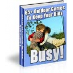 65 Outdoor Games to Keep Kids Busy