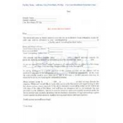 Demand Letter for Past Due Fees - Download