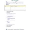 Child's File Checklist