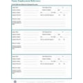 Nanny Employment Reference Sheet - Download