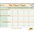 Chore Chart -Download